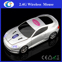 NEW Universal 3D Car 1600DPI 2.4G Wireless USB Optical Mouse For Laptop PC Gift