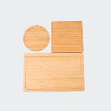 A set of Customized Wooden Cutting Board