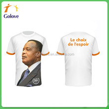 Wholesales election promotional t shirt for voter