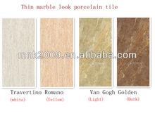 Marble look porcelain tile external wall tile size 1800X900X5.5mm