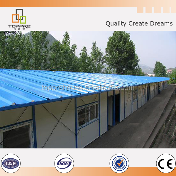 durable structure Simple low cost modular building use as office and dormitory