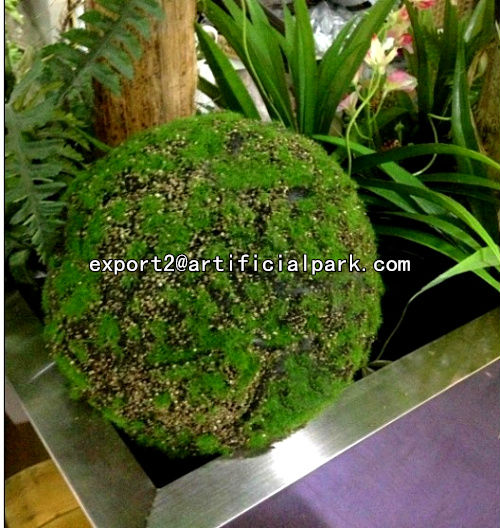 artificial moss ball