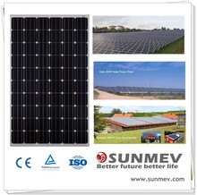 Best quality double glass cells Photovoltaic Solar Panel 260w with full certificates