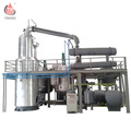 Used black motor oil refinery recycling machine
