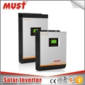 MUST manufacturer 4000W 48V grid tie solar power inverter with 80A MPPT controller