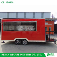 New style Outdoor stainless steel food service cart from china