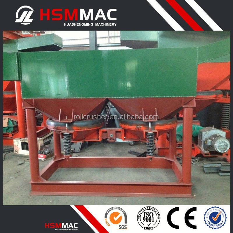 HSM Saw Tooth Wave Jigger Jigging Machine For Metal Separation
