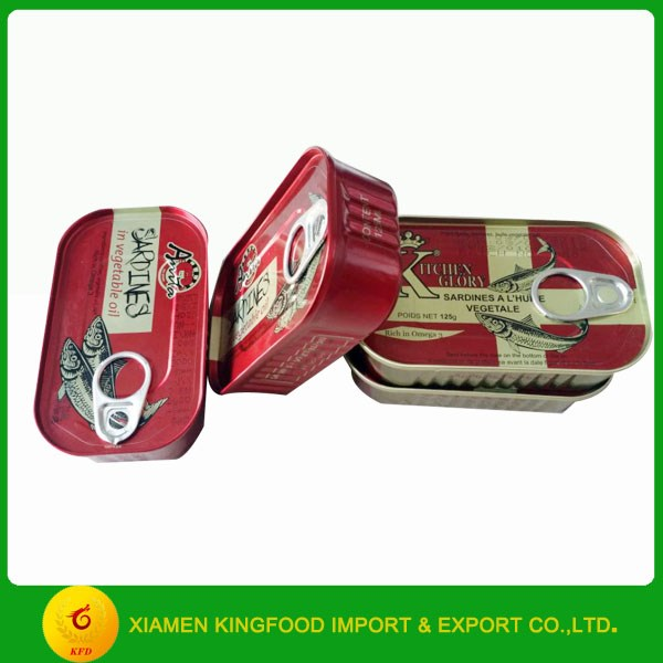 Good Quality Canned Sardine in oil Canned Seafood