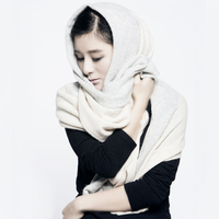 Fashional 100 Cashmere Scarves Winter Lady