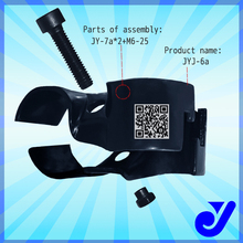 JYJ-6|Stamping lean pipe rack metal joint|Lean tube clamp|Light weight and carefully packaging joint
