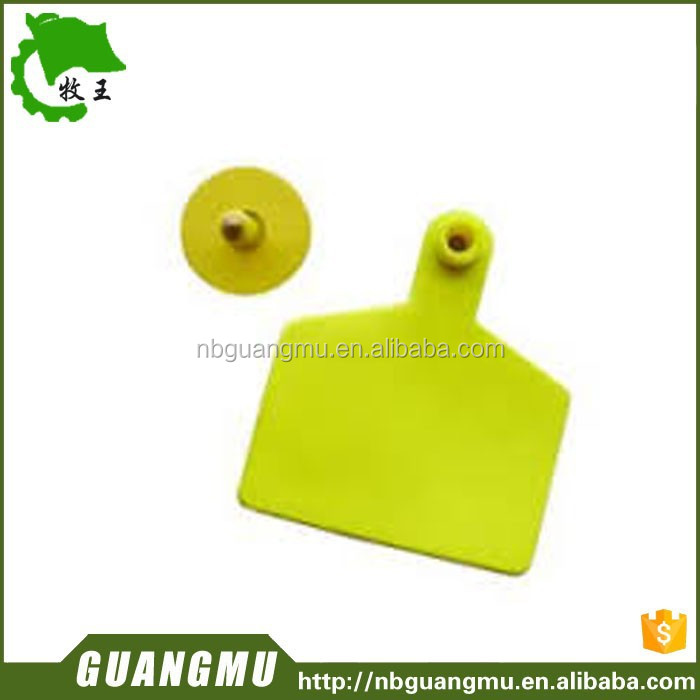 livestock equipment plastic cow cattle quadrate ear tag