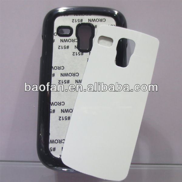2D Sublimation PC phone case for samsung galaxy S3 MINI