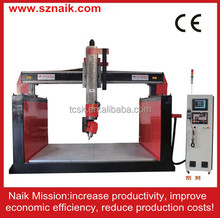 good quality strong power 5 axis cnc router stone