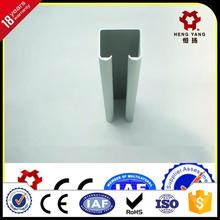 sliding windows track/rail aluminium extrusion profile for windows and doors