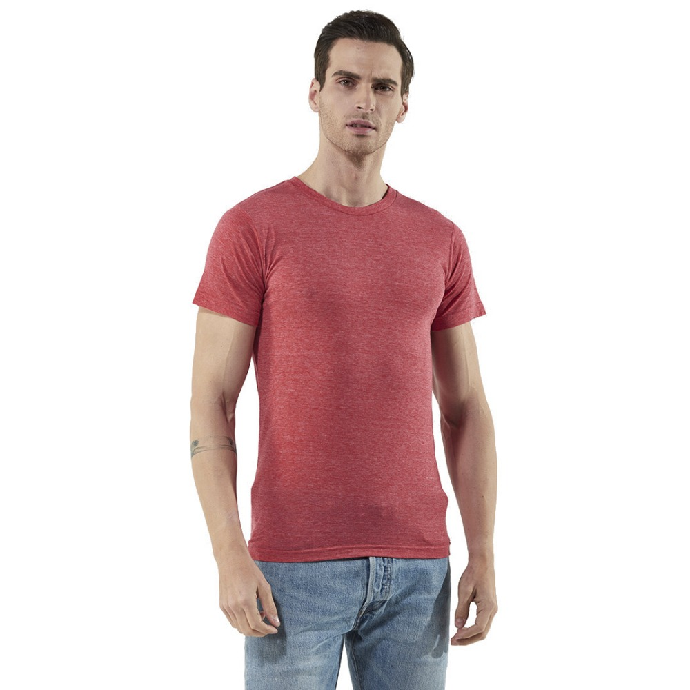 65 Polyester 35 Cotton Blank <strong>T</strong>-<strong>Shirt</strong> for Man