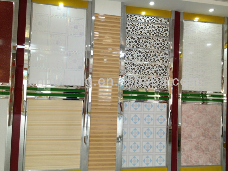 PVC door panel 15cm*12mm,popular in india