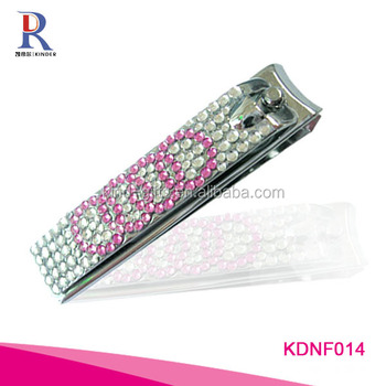 Bling shining simple professional special simbolic carbon steel plating nail clipper