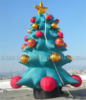 Big outdoor inflatable decorate christmas tree, inflatable christmas tree for decoration C1029