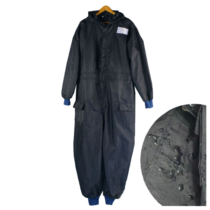 Custom Made Mens Hooded Waterproof Car Washing Protective Coveralls