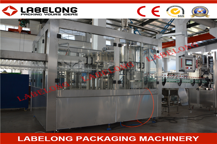 Custom logo soda washing filling capping line With Bottom Price