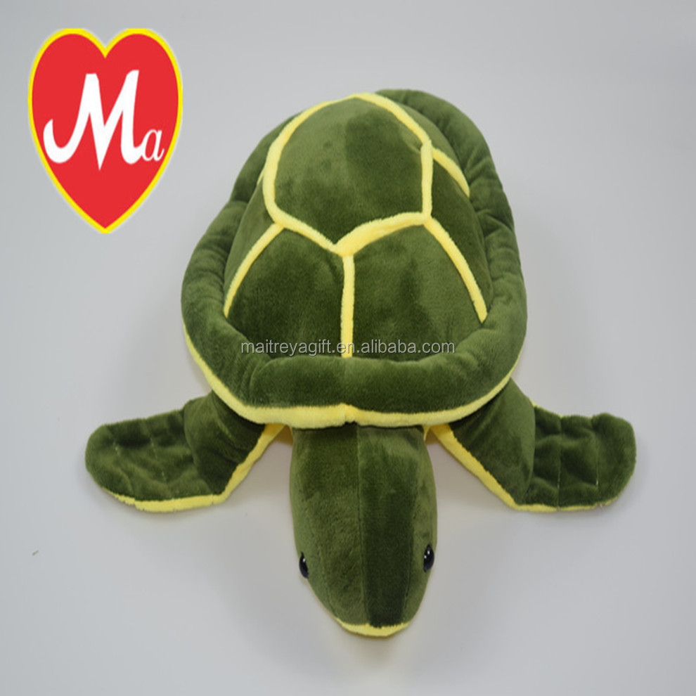 2016 best wholesale aquatic stuffed plush turtle soft toy, for kids