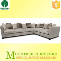 Moontree MSF-1169 commercial corduroy fabric sectional sofa