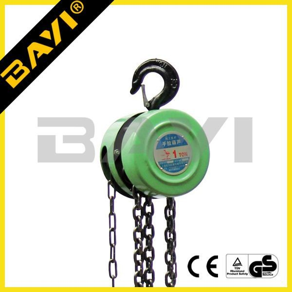 HS series 1 ton chain block/Chongqing manufacturer of chain blocks for sale