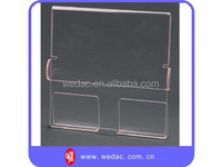 New design outdoor desktop acrylic brochure holder