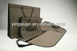 Wholesale Customized Foldable Suit Cover,non woven Garment Bag,Non-woven Suit Bag
