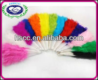 Cheap Price Various Colored Belly Dance Performance Props Wholesale Feather Fans