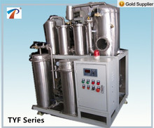 Fyrquel EHC Fluid filtration equipment model TYF-50, 3000 Liters/hr, stainless steel, clean Phosphate Ester