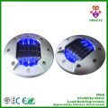 Embedded Road Stud Aluminum Solar Cat Eye Light with CE