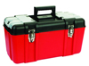 High quality professional heavy duty plastic tool box with removable tray