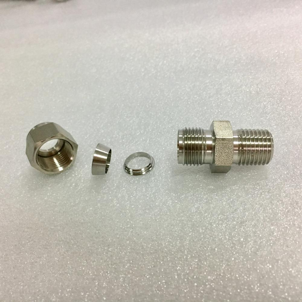 China Manufacturers Stainless Steel Double Ferrule Tube Fitting