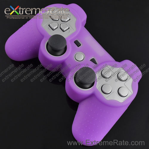 high quality Soft Silicone case For game PS3 Wireless remote Controller