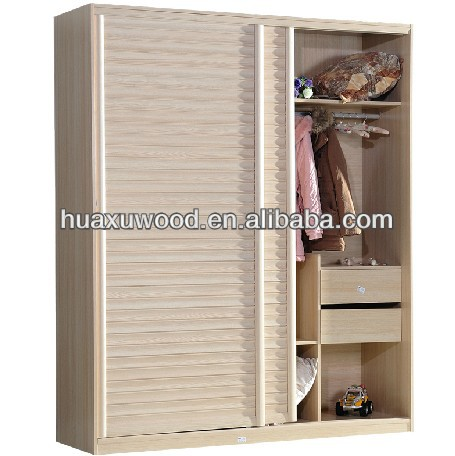 HXSL150110-1 hot-selling and modern king size bedroom MDF wardrobe