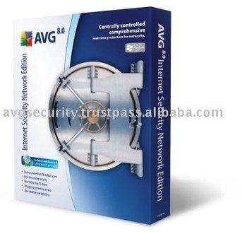 AVG Internet Security Network Edition software 100 Computers 2 Years