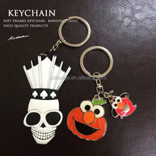 Halloween Key chain,Halloween Festival Memorial PVC/Rubber Key Chain