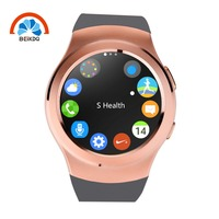 New arrival living waterproof cheap round shenzhen smart watch