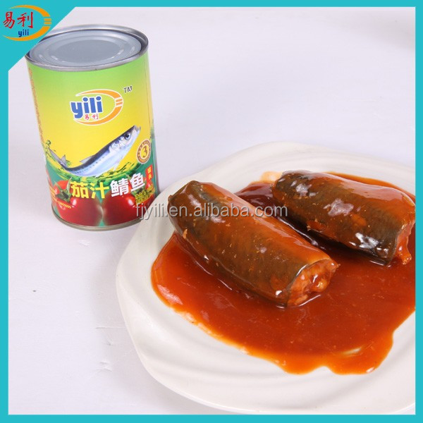 Canned Food Price List of Mackerel Canned Fish