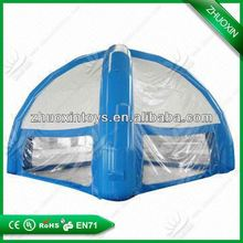 Large pneumatic tent for event