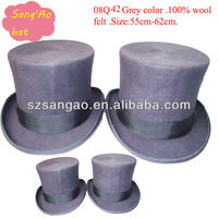 Wholesale perfect folding fedora hats wool felt fedora for men /ladies100% wool wear for festvial /party/wedding/meeting