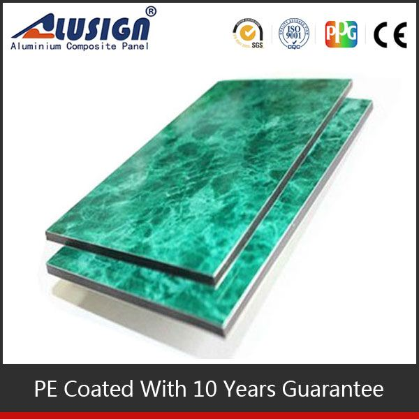ALUSIGN colorful bathroom plastic wall panels exterior acp design