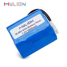4500mah 7.2V nimh Battery Pack Series for RC car truck boat airsoft gun
