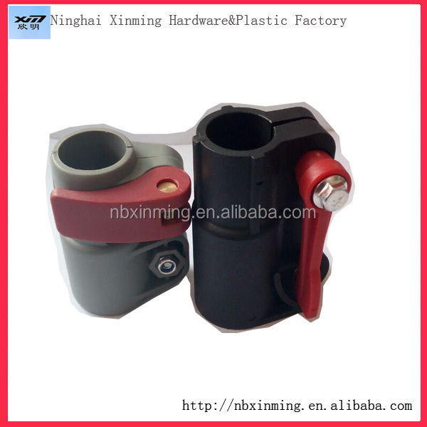 Manufacturer Plastic Telescopic Pole Pipe Clamp For Telescopic Pole