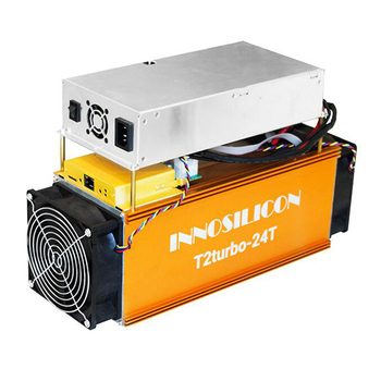 innosilicon T2 Turbo 24Th/s SHA-256 BTC digging machine bitcoin Miner BCH mining machine