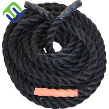 38mm 30ft pouplar polyester fitness battle rope selling