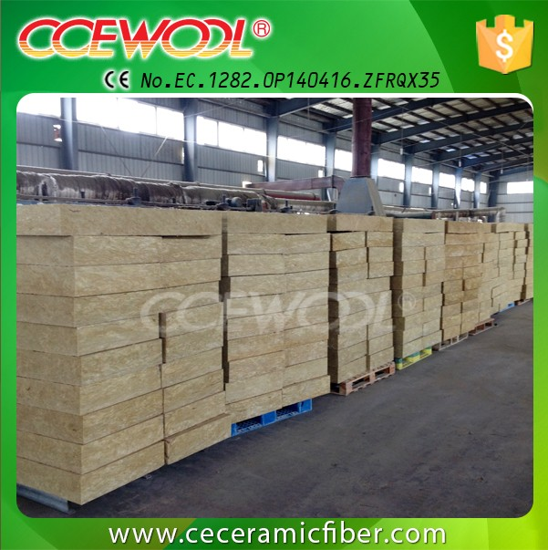 CCE WOOL Thermal Insulation High Density Rock Wool Board