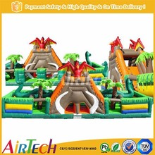 Attractive inflatable bird funcity for sale