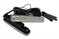 auto light factory wholesale Super Bright 10W Headlight LED Daytime Running Light aluminum base and ABS cover LED DRL TTX-8006